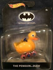 The Penguin Duck Batman Returns Hot Wheels 1:50 Scale
