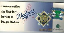 Los Angeles Dodgers/Milwaukee Brewers inaugural game pin