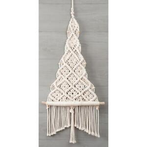 Macrame Hanging kit CHRISTMAS TREE by Solid Oak Finished size 33 cm x 76 cm