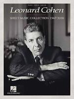 Leonard Cohen: Sheet Music Collection (1967-2016) by Leonard Cohen, NEW Book, FR