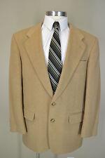 Stafford Sharp Awesome Mens Size 44 Regular Camel Hair  Blazer Sport Coat