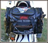 Sac Rool Bag en cuir souple Aigle Live to Ride - moto custom harley bikers VN