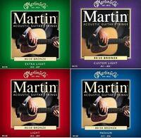 Martin Corde per Chitarra Acustica Bronzo 12 - 54 10 - 47 11 - 52 13 - 56