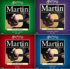 Martin Bronze Acoustic Guitar Strings 12 - 54 10 - 47 11 - 52 13 - 56