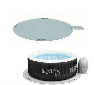 Lazy Spa Hot Tub Floor Protector Mat Sheet Cover Accessories Miami Vegas Paris