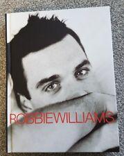 ROBBIE WILLIAMS - SOMEBODY SOMEDAY HARDBACK BOOK