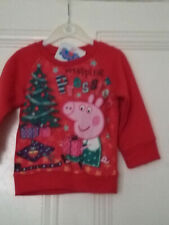 Peppa Pig Christmas Jersey 4-5 Years