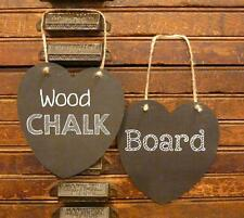 Photo Booth Sign Wedding Heart Chalkboard Hanging Signs x 2PC