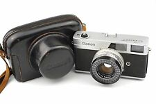 Canon Canonet Camera with 45mm f/1.9 Lens