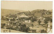 RPPC View of CHERRY TREE PA Indiana County Pennsylvania Real Photo Postcard