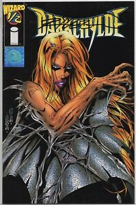 DARKCHYLDE 1/2 Wizard Mail Away Variant Cover SIGNED Randy Queen COA 1997 NM