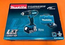 Makita Xph102 18v Lxt Hammer Driver Drill Kit 30ah