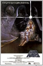 STAR WARS Movie Poster - Classic Full Size 24x36 Print ~ Vintage Style A