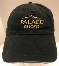 Palace Resorts Mexican Caribbean Baseball Cap Hat Black Logo Men's OSFA Vintage