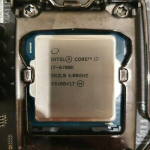 Intel Core i7-6700K 4.0GHz Quad Core Skylake LGA 1151 CPU SR2L0