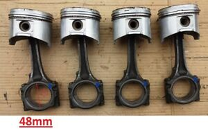 Datsun A15 pistons with conrods used