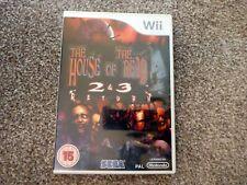 Nintendo Wii The House Of The Dead 2 & 3 Return Sega Video Game