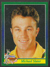 BUTTERCUP BREAD 1995 CRICKET CARD MICHAEL SLATER (Australia) Scratchie intact