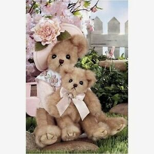 "MOMMY CARES-A-LOT Bearington 14"" Bear Set #165301 Mothers Day $34.99 w/tags Rare"
