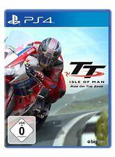 TT - ISLE OF MAN - RIDE ON THE borde PS4 PlayStation 4 NUEVO + Embalaje orig.