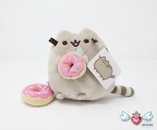 GUND Donut Pusheen Plush with Bonus Clip