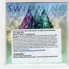 (FU682) Swimming, Sun In The Island - 2011 DJ CD