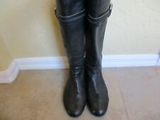 "Frye ""Jillian Toggle"" Brown Leather Riding Boots Women Size 10 M Eur 40.5"