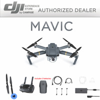 DJI Mavic Pro Drone  4K Stabilized Camera includes 2 batteries, New!