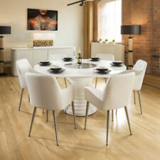 Dining Room with 6 Seats Table & Chair Sets