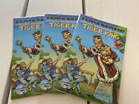 🔥🐅 3 Imfamous Tiger King Comics (Limited To 150) 2020 🐅 🔥