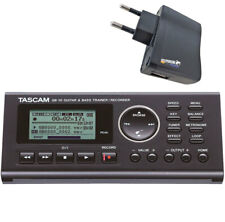 Tascam GB-10 Trainer Recorder for Guitar and Bass + Power Supply