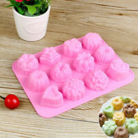 Silicone 3D Chocolate Soap Mold Cake Candy Baking Mould Baking Pan Tray Molds