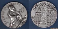 D'après Albert David - Jeanne Hachette Beauvais - France Médaille 56 Grammes Bro