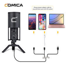 COMICA STM-USB Condenser Cardioid USB Microphone for USB interface devices PC