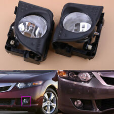 L+R Fog Driving Lights Lamp For 2009 10 Acura TSX 2.4 3.5L 33900/33950-TL0-A01