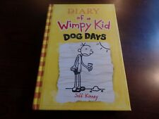 Hardcover Diary of a Wimpy Kid Dog Days by Jeff Kinney #3665
