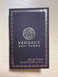 VERSACE POUR HOMME 0.05 oz 1.6 ml Sample Vial