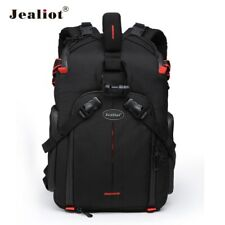 Jealiot Slr Camera Backpack For Photo Camera Lens Bag Laptop Video Case