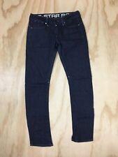 G-Star Raw Corvet Skinny Women's 30 x 30 Made in Italy Denim Blue Jeans