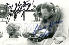 Liam Neeson & Jake Lloyd signed 5x7 Autograph Photo RP - Free ShipN! Star Wars