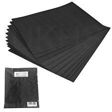 UK 10 Mixed Grade Sheets Wet & Dry Sand Paper Aluminium Oxide Sanding Sandpaper