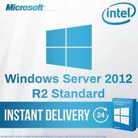 Windows Server 2012 R2 Standard License FULL Retail Version + Download Link ESD