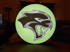 Dodge Hellcat Lighted Sign