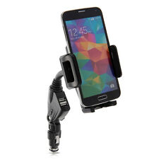 2in1 Dual USB Car Charger & Holder for Samsung Galaxy Note 3 Neo & Note 3 & Y