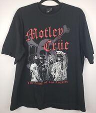 Motley Crüe Saints Of Los Angeles 2009 Tour T-Shirt Size L