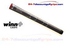 Winn Dri-tac Golf Grips - Dark Grey Post and Tape
