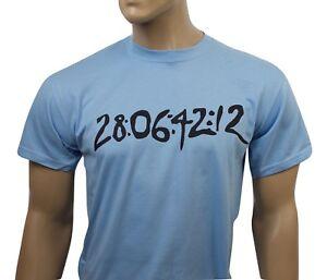 Donnie Darko inspired mens film t-shirt - 28:06:42:12
