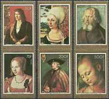 Timbres Arts Tableaux Comores 208/11 PA137/8 * lot 14567