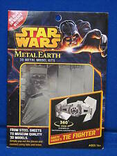 NEW Fascinations Metal Earth Star Wars Tie Fighter 3D Laser Cut Models Kit NIP