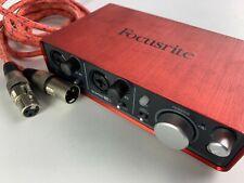 Like New - Focusrite Scarlett 2i2 2nd Generation USB Audio Interface Recording